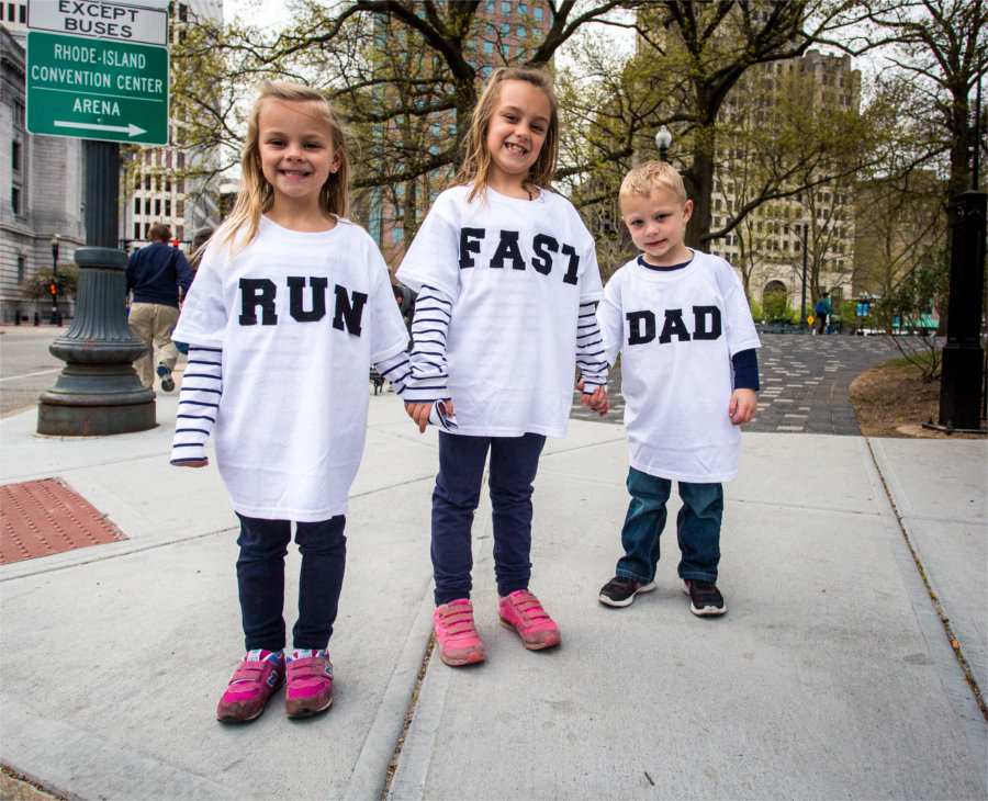 Run Fast Dad Providence girls