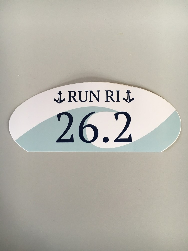 26.2 Run RI sticker
