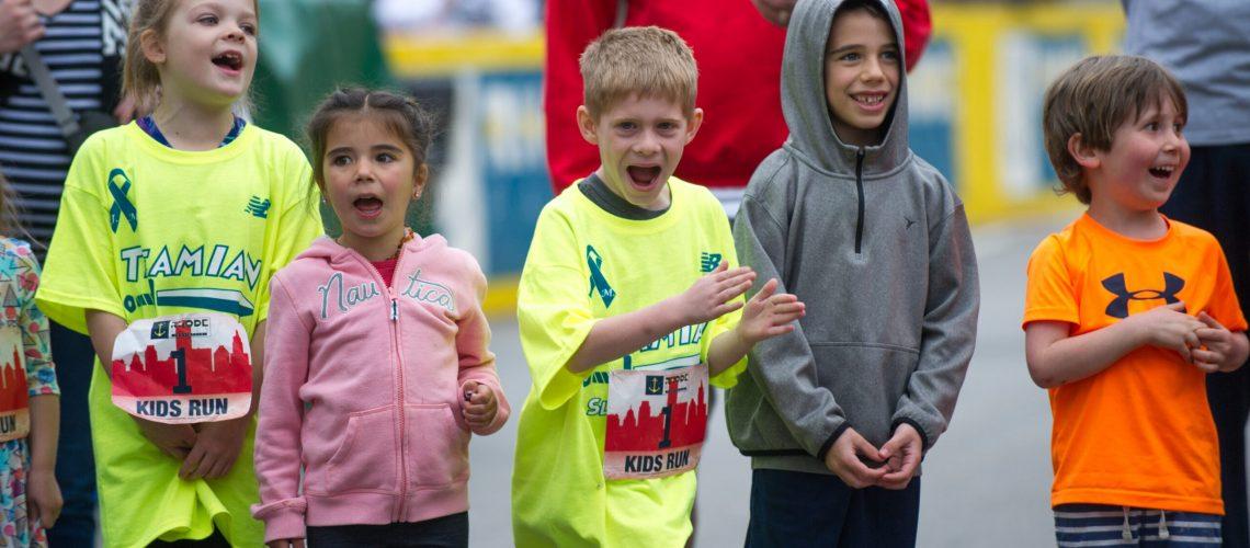 kids race yell